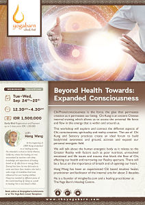 Beyond Health Towards: Expanded Consciousness with Hang Wang