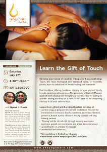 Learn the Gift of Touch with Ngurah & Phonik