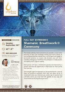 Full Day Experience Shamanic Breathwork® Ceremony with Levi Banner