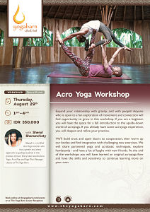 Acro Yoga Workshop with Sheryl Sharaswhaty