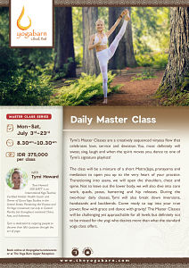 Daily Master Class with Tymi Howard