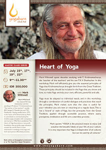 Master Class Series Heart of Yoga with Mark Withwell