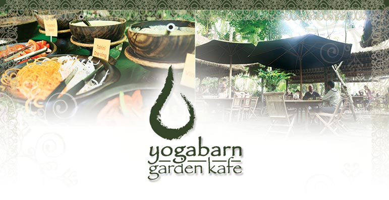 The Garden Kafe at The Yoga Barn, Ubud - Bali