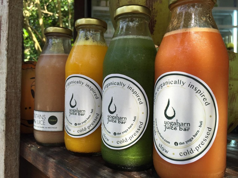 Juice Bar at The Yoga Barn, Ubud - Bali